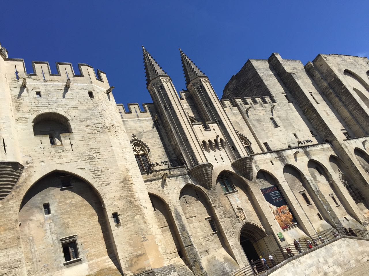 Avignon, the Popes Palace and the festival