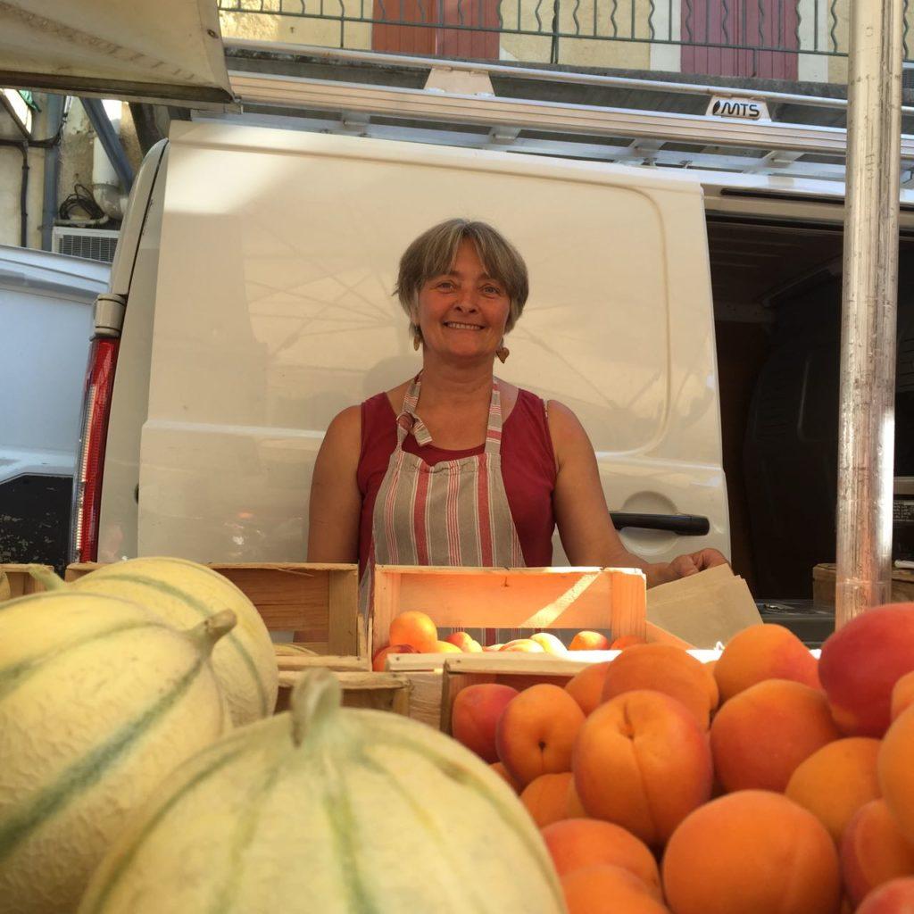 Patricia, Vaison-la-Romaine's market
