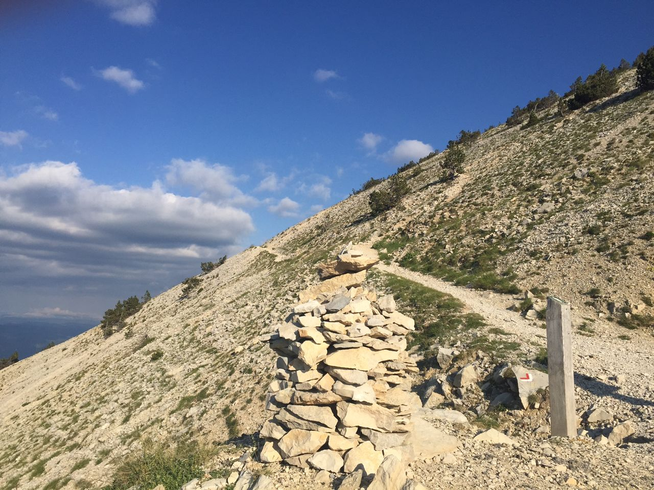 The Mont Ventoux trails