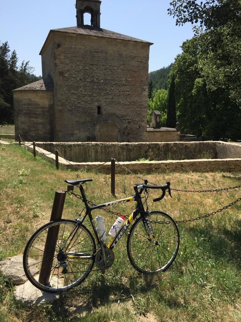 Chapel on the Mont Ventoux climb