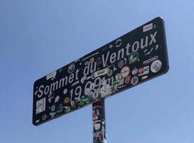 Mont Ventoux summit