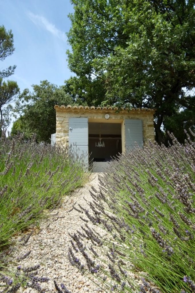 Summer house, Lavender, La Baye des Anges