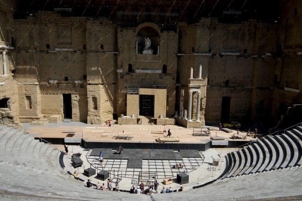 Theatre antique d'Orange, Roman theatre