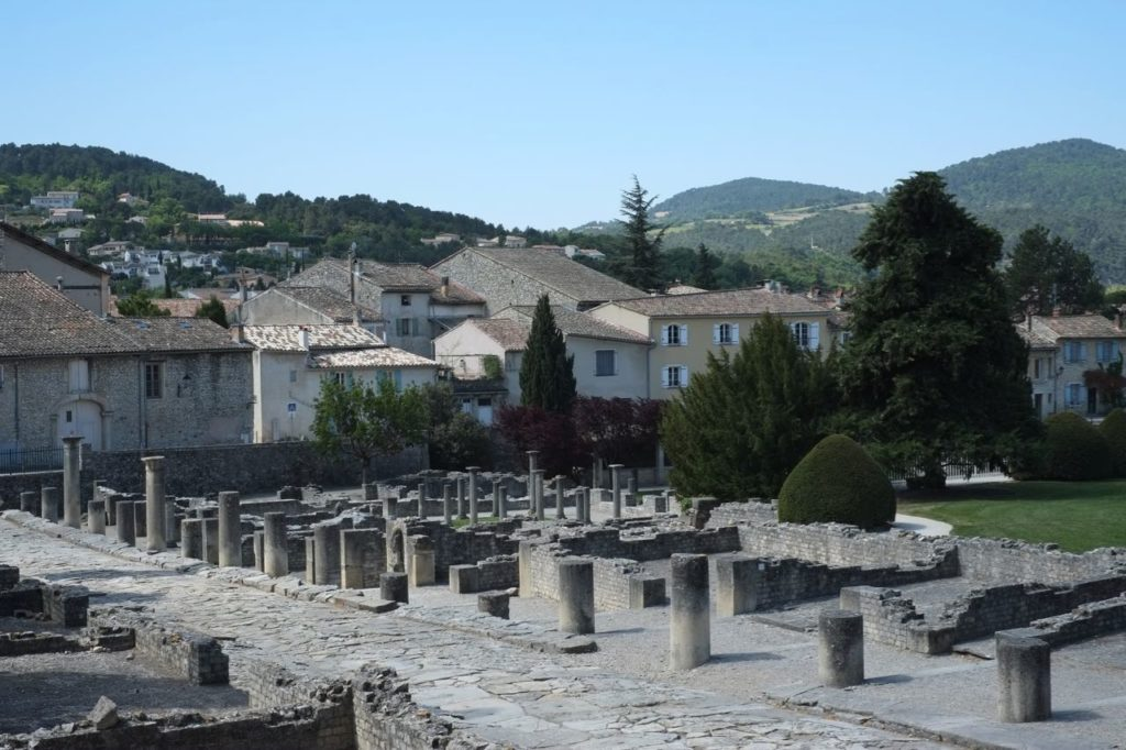 Archeological Roman site