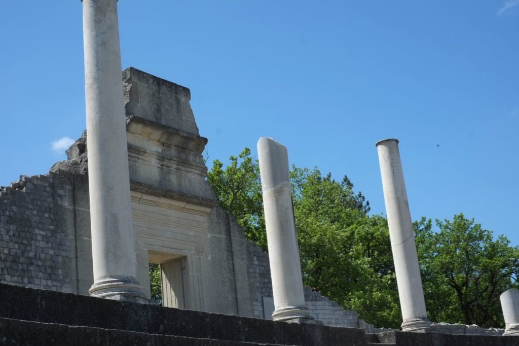Roman theatre, Vaison-la-Romaine
