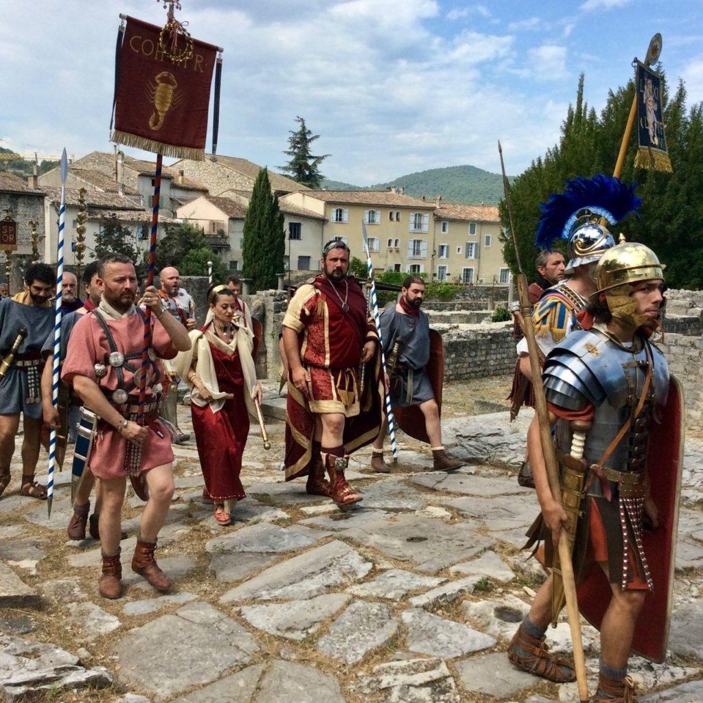 Journee Romaines, à la découverte de l'empire, Augustus Caesaria Praetoria, historical reconstitution