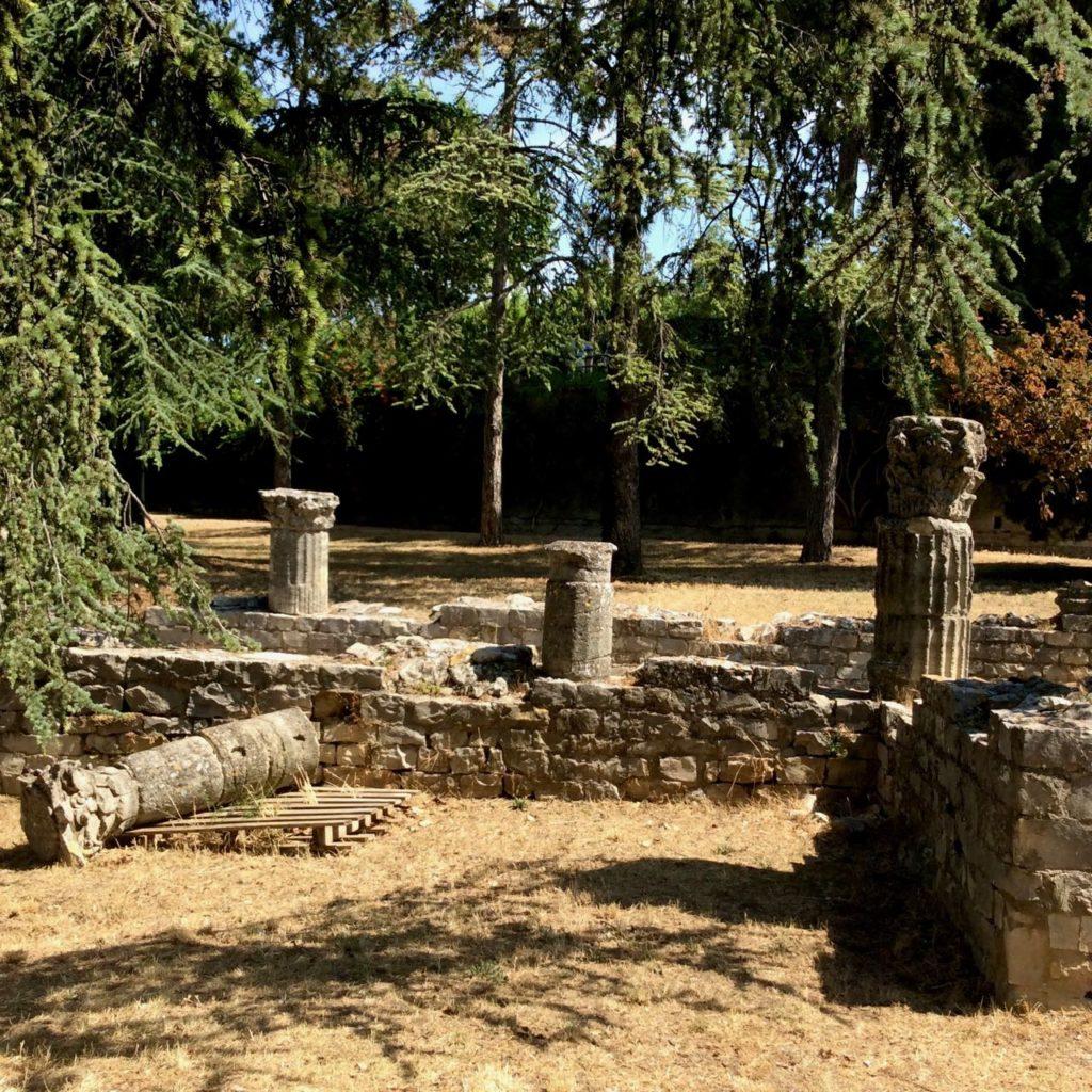 Roman archeological site of Villasse, Vaison-la-Romaine
