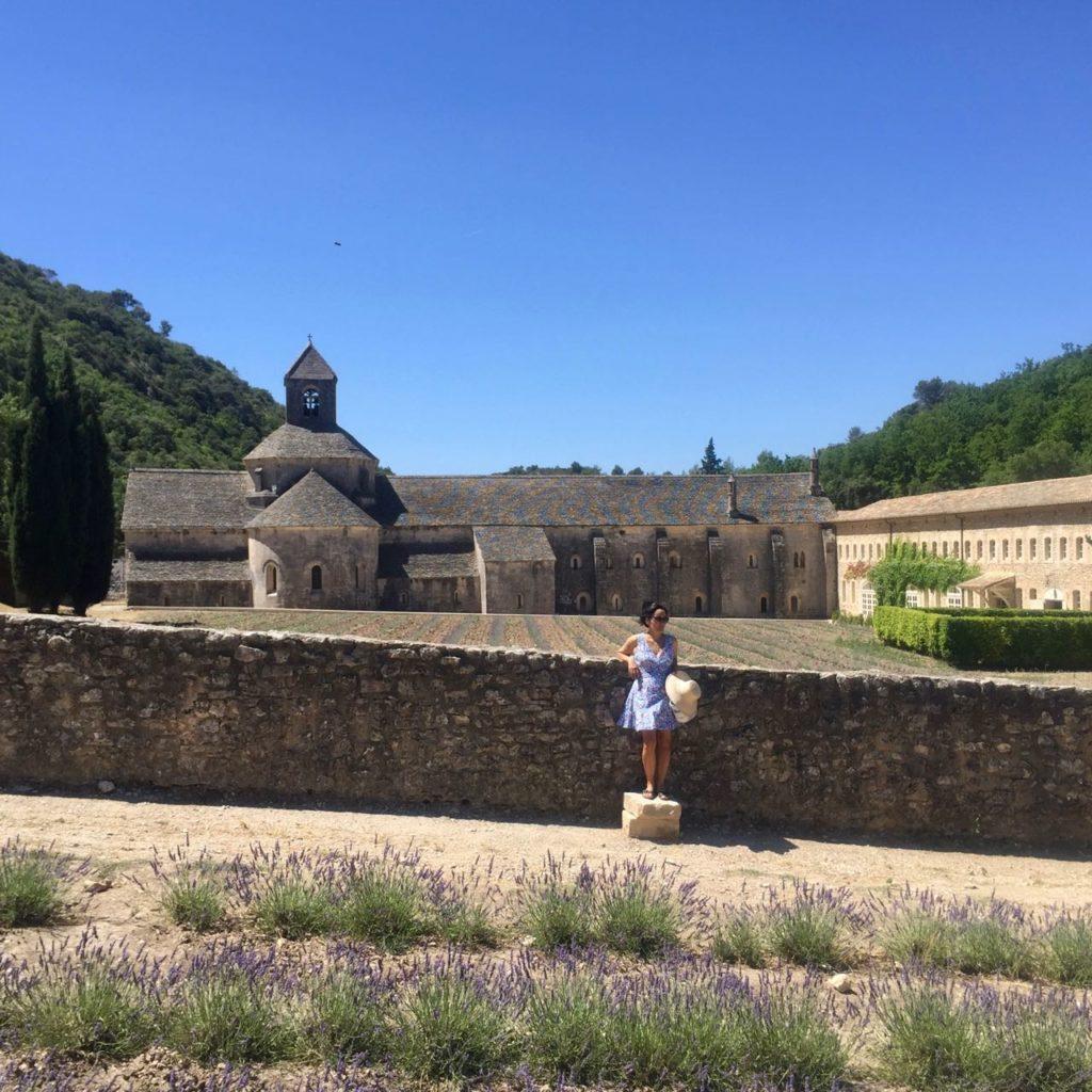 Abbaye de Senanque, Senanque Abbey, lavande, lavender, lavandin, lavender field, Mei Line handbag