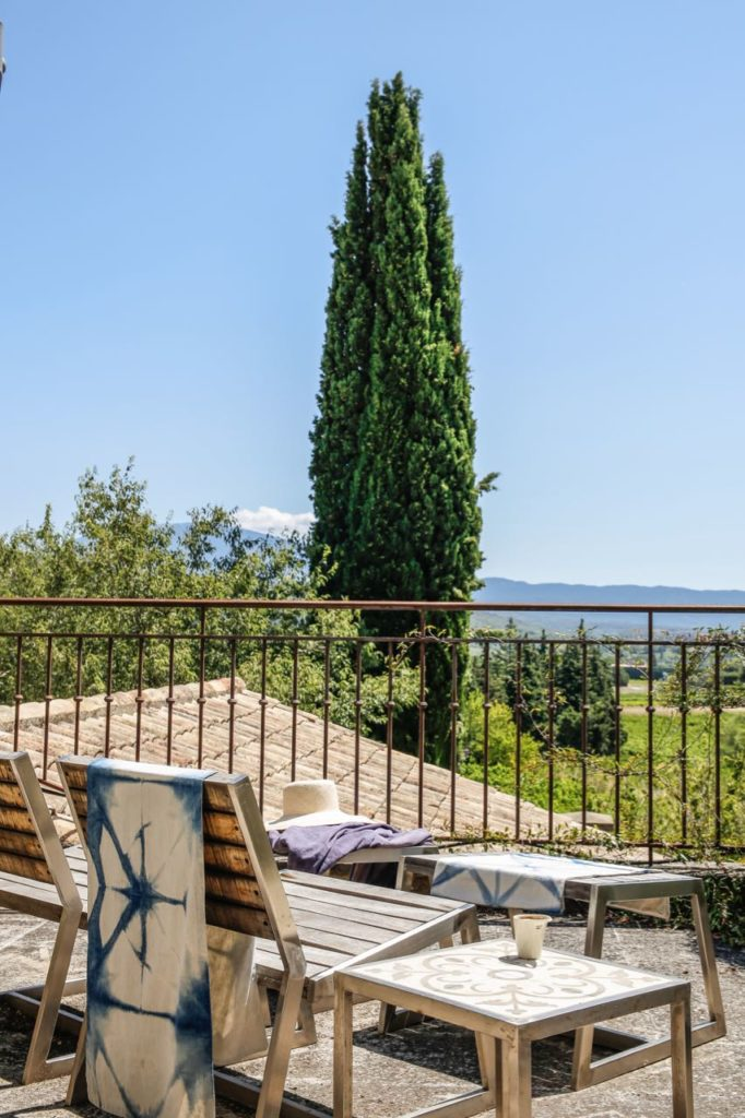 Master suite terrace, La Baye des Anges