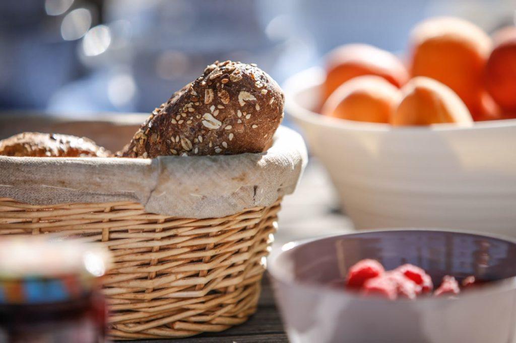 Breakfast, La Baye des Anges