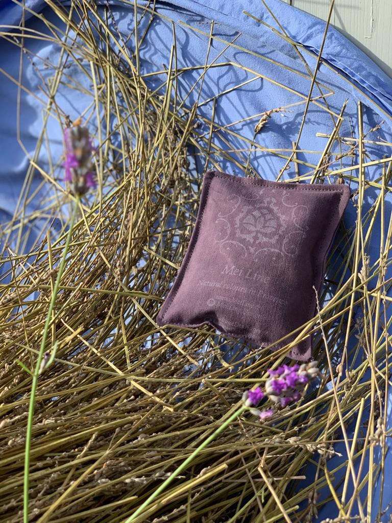 Lavender processing at la Baye des Anges