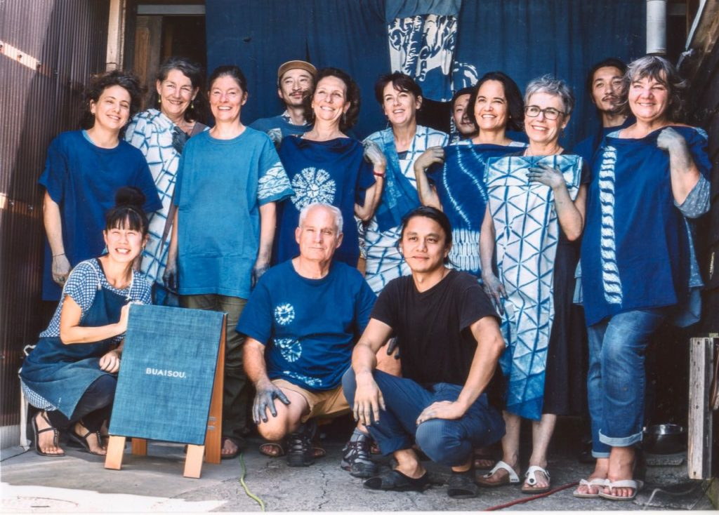 Mei Line @Buaisu, indigo dying and reserve technique, slow fashion