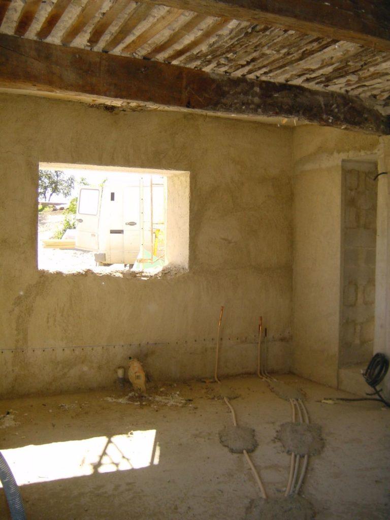 Renovation works at la Baye des Anges