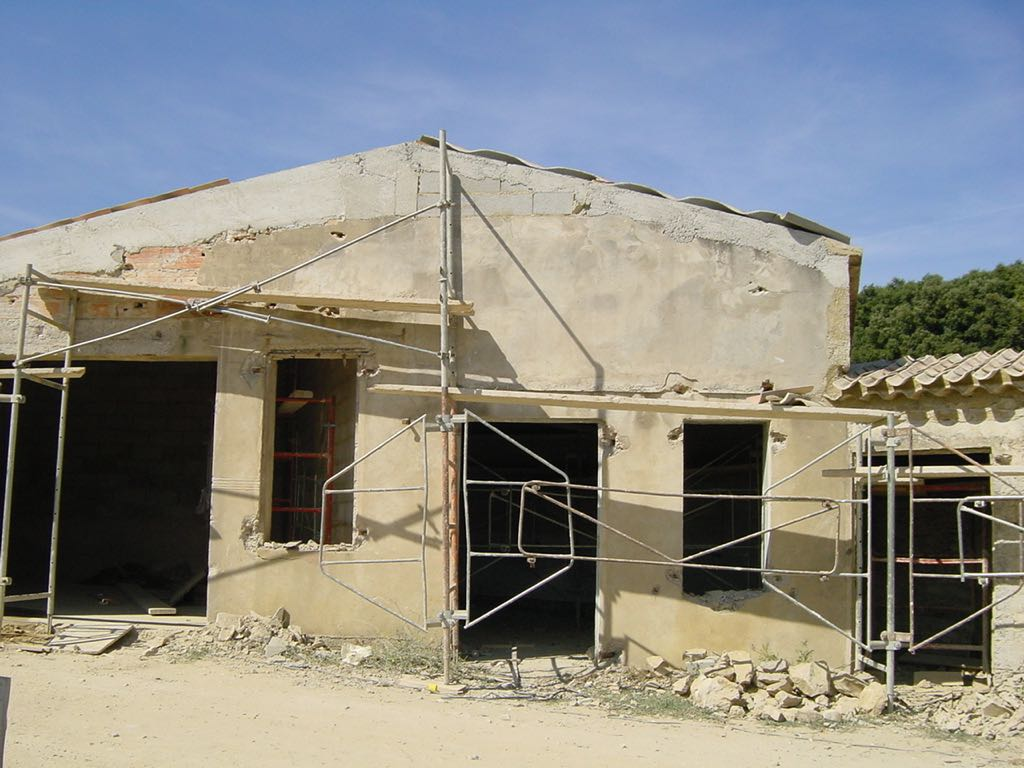 Renovation works at la Baye des Anges
