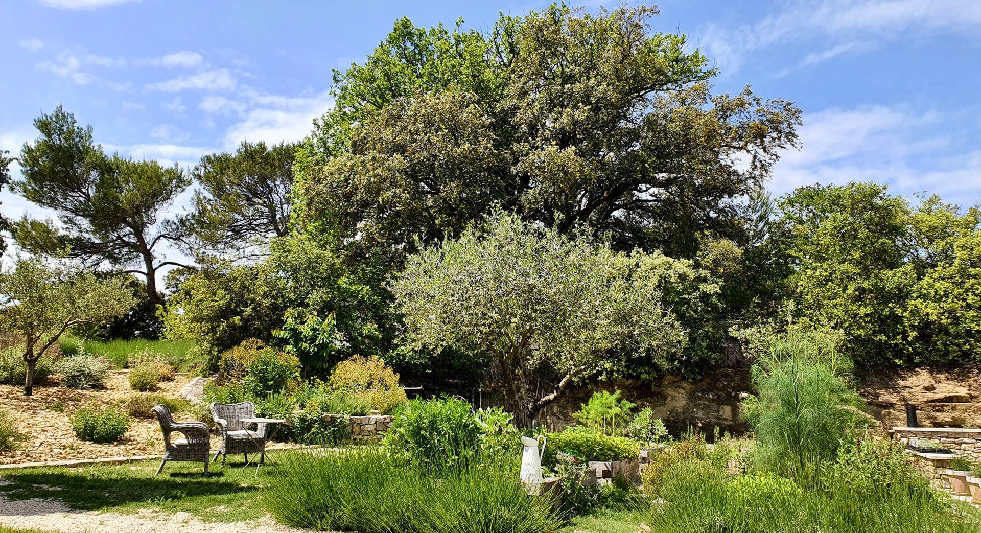 The kitchen garden of la Baye des Anges