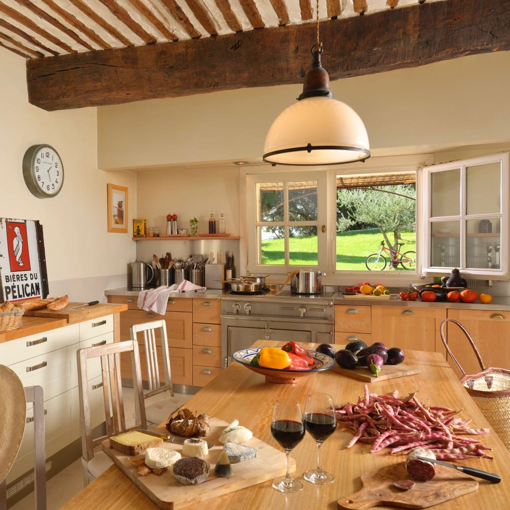 Kitchen at la Baye des Anges