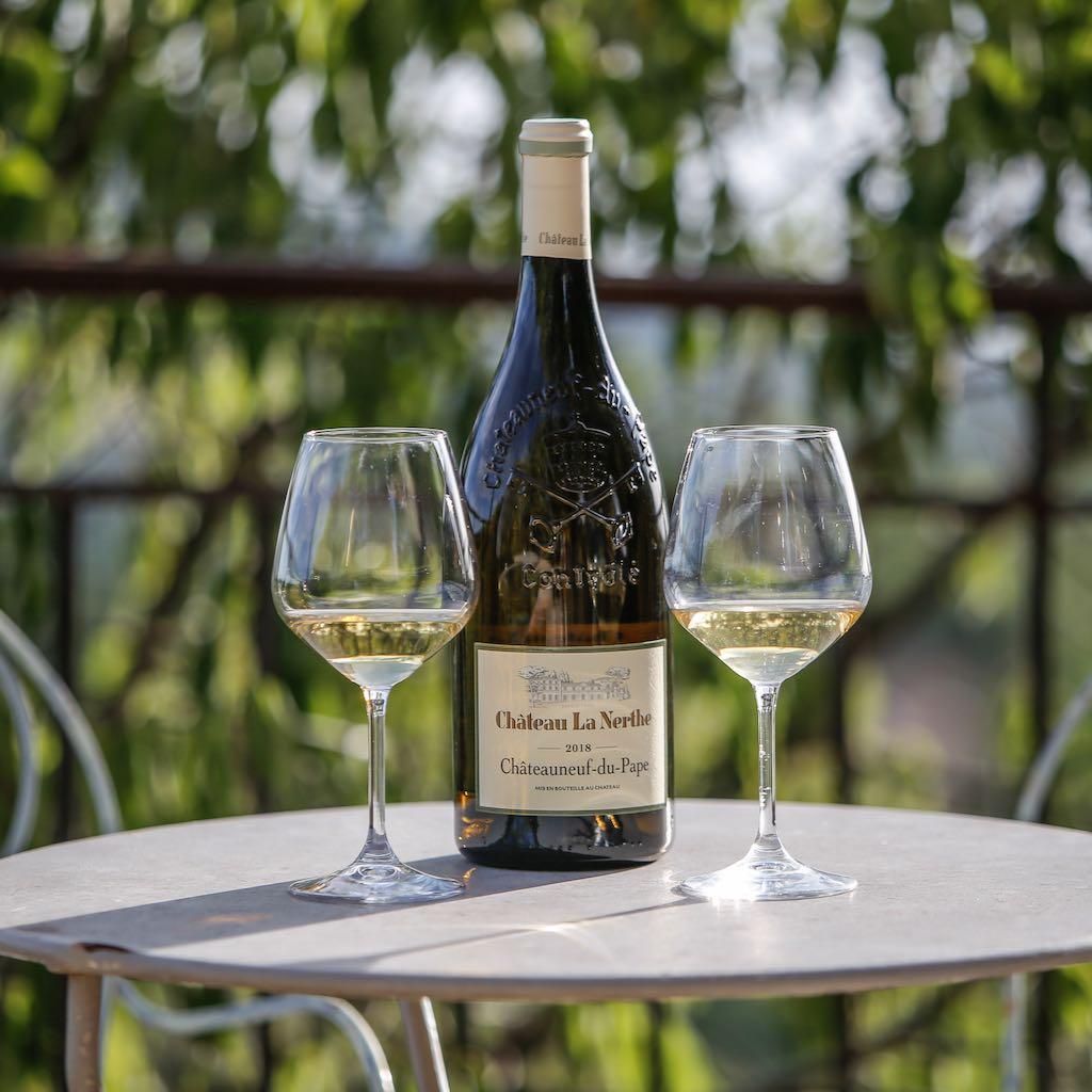 Wine tasting at la Baye des Anges