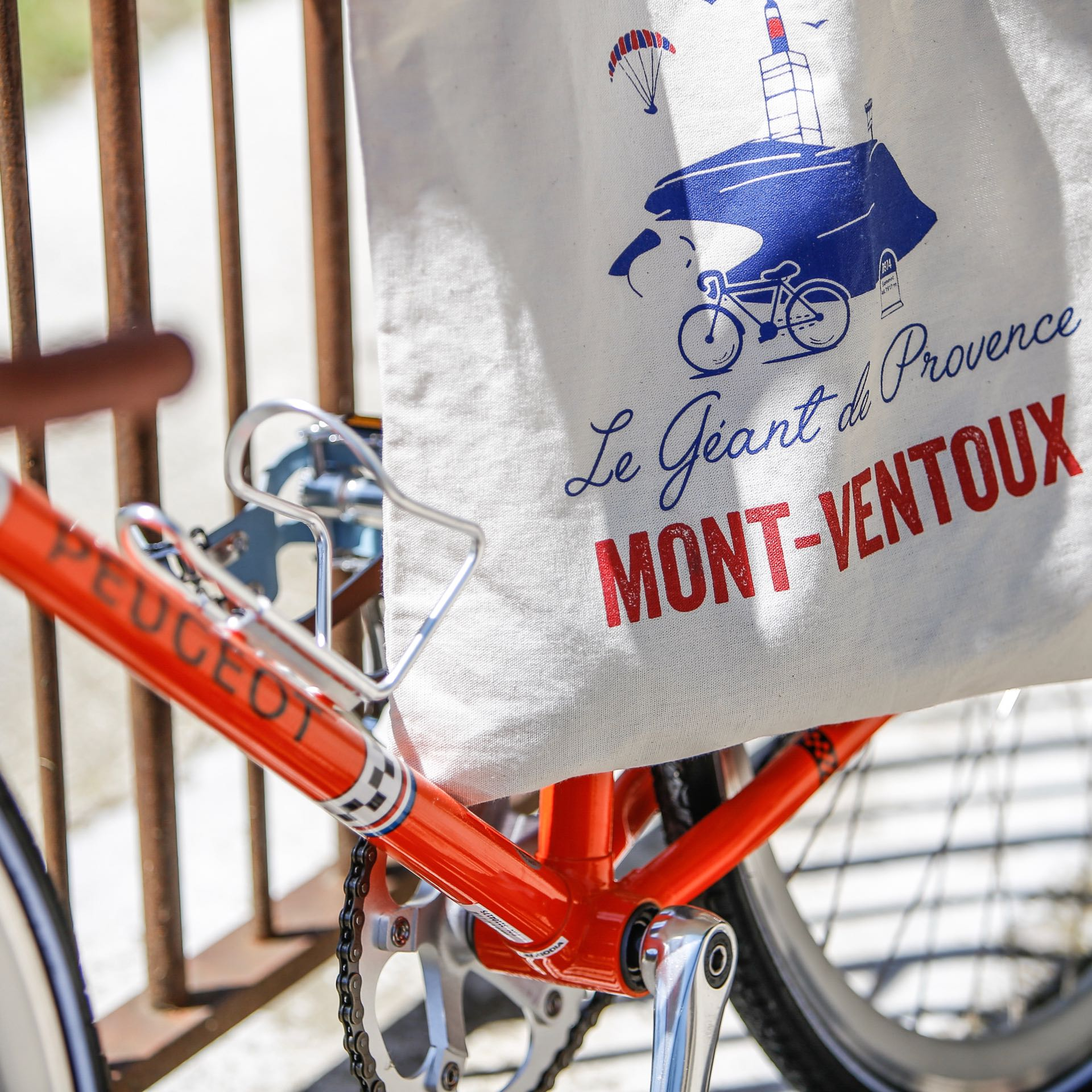 Bicycle at the Mont Ventoux
